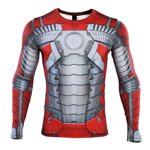 Iron Man MK5 Compression Top (Long Sleeves)