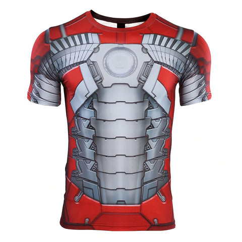 Iron Man MK 5 Compression Top (Short Sleeves)