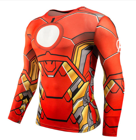 Ironman Compression Top (Long Sleeves)