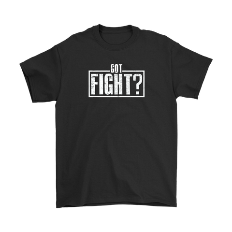 Got Fight? Stamp Tee Black