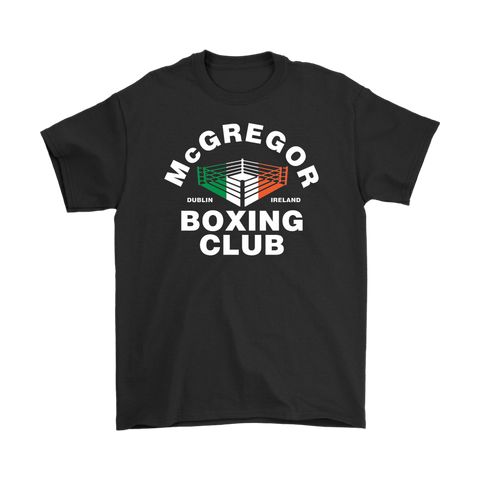 Conor McGregor Boxing Club Tee