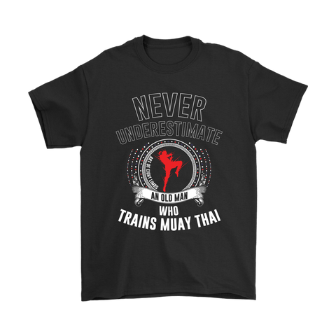 Old Man Muay Thai Tee