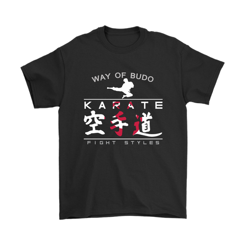 Fight Styles - Karate Tee