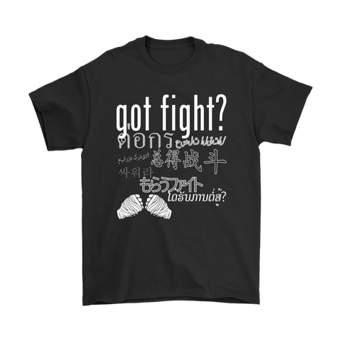 Got Fight? Global Fight Tee Black