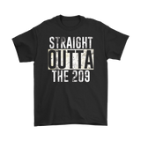 Straight Outta The 209 Tee