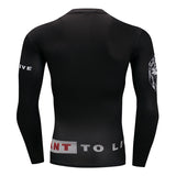 Lion Roar Compression Top (Long Sleeves)