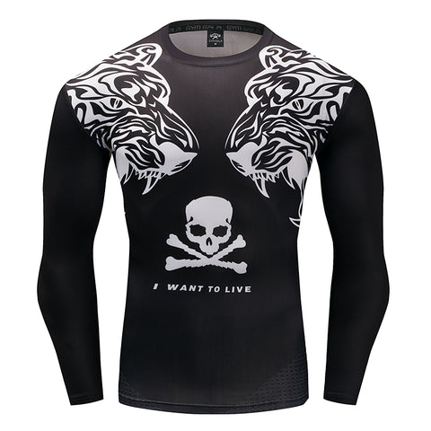 IWTL Predator Compression Top (Long Sleeves)