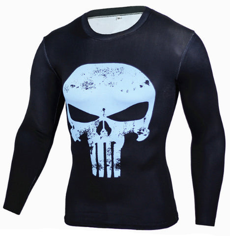 Punisher Compression Top (Long Sleeves)