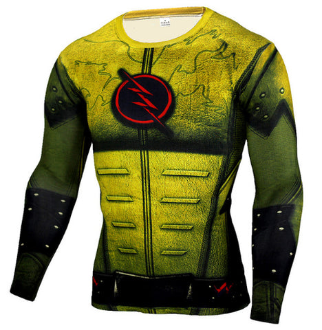 Reverse Flash Compression Top (Long Sleeves)