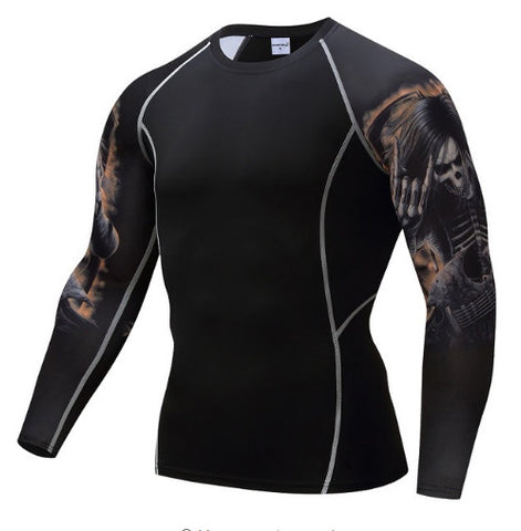 Rocker Compression Top (Long Sleeves)