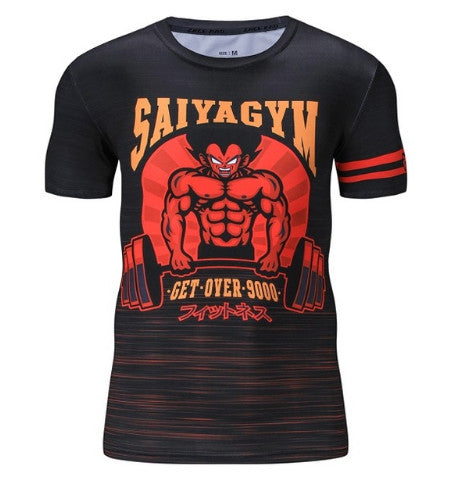 Saiya's Gym Compression Top (Short Sleeves)