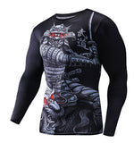 Samurai Dragon Rashguard Long Sleeves