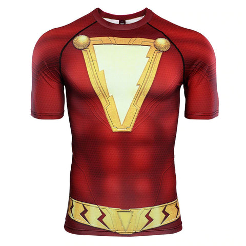 Shazam Compression Top (Short Sleeves)