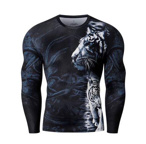 Snow Tiger Rashguard