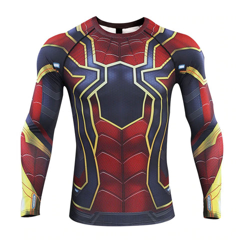 Spider-Man Endgame Compression Top (Long Sleeves)