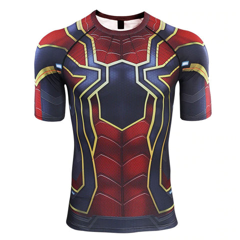 Spider-Man Endgame Compression Top (Short Sleeves)