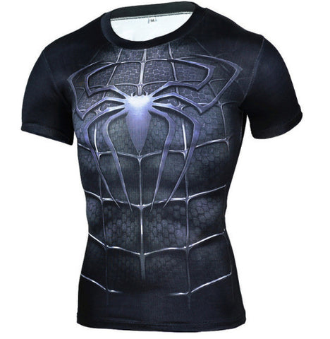 Symbiote Compression Top (Shorts Sleeves)