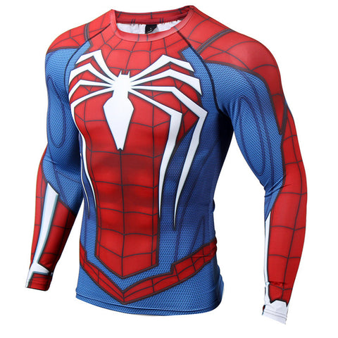 Spiderman Compression Top (Long Sleeves)