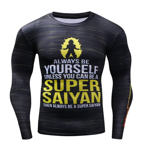 Saiyan Compression Top (Long Sleeves)