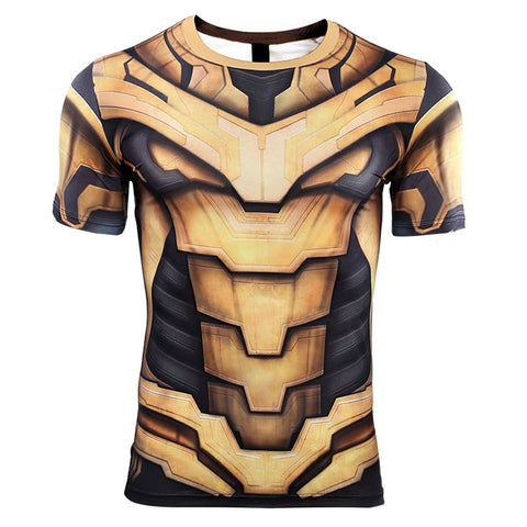 Thanos Compression Top (Short Sleeves)