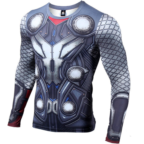 Thor Compression Top (Long Sleeves)