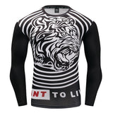 Tiger Roar Compression Top (Long Sleeves)