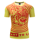 Tiger Roar Compression Top (Short Sleeves)
