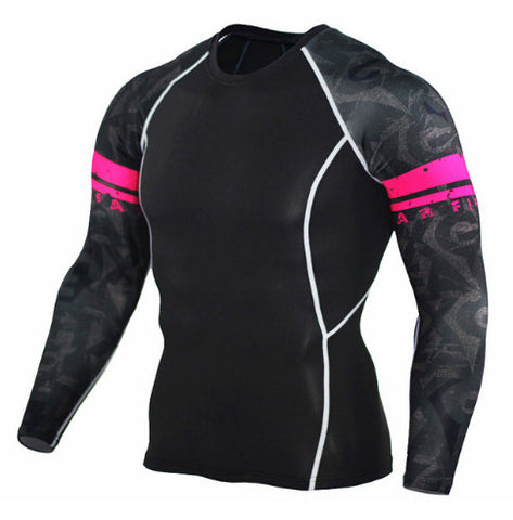 Tribal Band Compression Top (Long Sleeves)