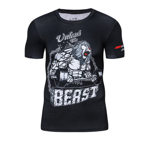 Unleash The Beast Compression Top (Short Sleeves)