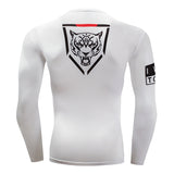 Tiger Crest Compression Top (Long Sleeves)