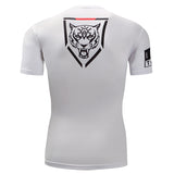 Tiger Crest Compression Top (Short Sleeves)