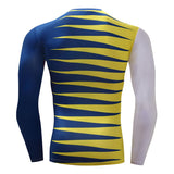 Cross Color Compression Top (Long Sleeves)