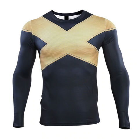 X-Men Dark Phoenix Compression Top (Long Sleeves)
