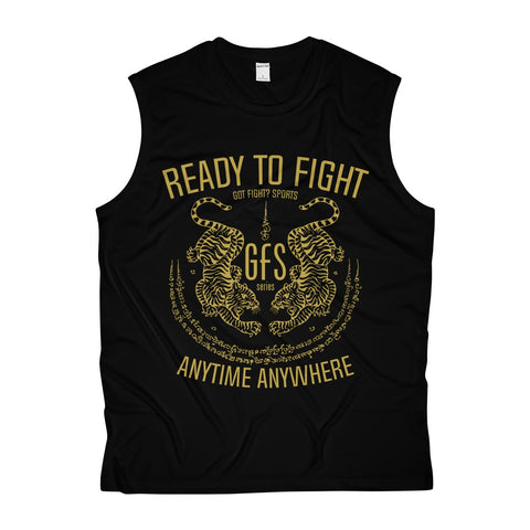 Got Fight? RTF Tiger Yant Sports Tank Top