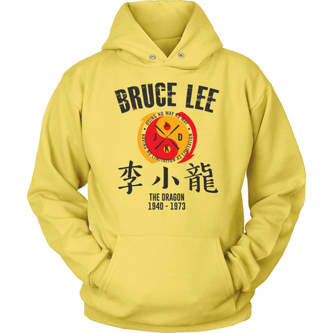 Bruce Lee The Dragon Hoodie