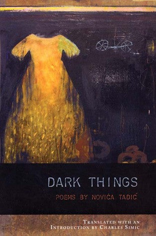 Dark Things - BOA Editions, Ltd.