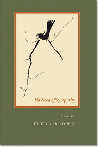 No Need of Sympathy - BOA Editions, Ltd.