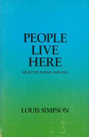 People Live Here: Selected Poems - BOA Editions, Ltd.