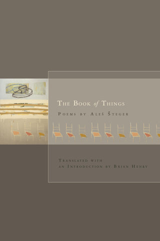 The Book of Things - BOA Editions, Ltd.