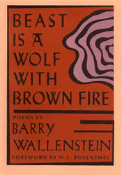 Beast is a Wolf with Brown Fire - BOA Editions, Ltd.