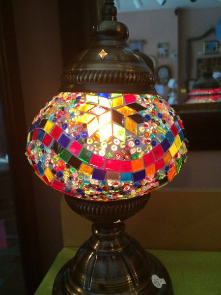 Authentic Multi-Wave Turkish Lamp - Shops on Bay
