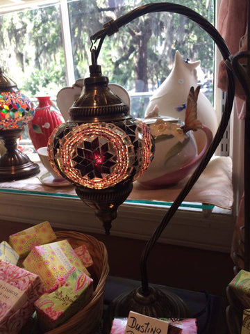 Authentic Purple Arc Turkish Lamp - Shops on Bay