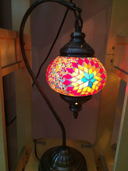 Authentic Multi-Flower Arc Turkish Lamp - Shops on Bay