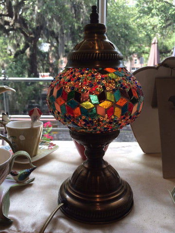 Authentic Multi Turkish Lamp - Shops on Bay