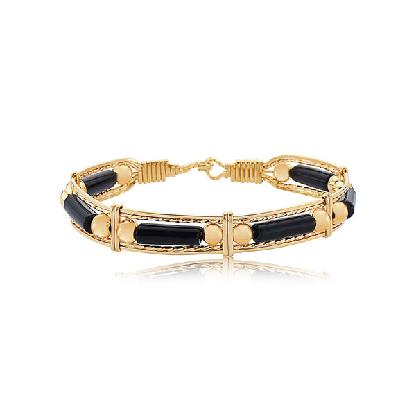Ronaldo Color Your World With Gold Bead Bracelet