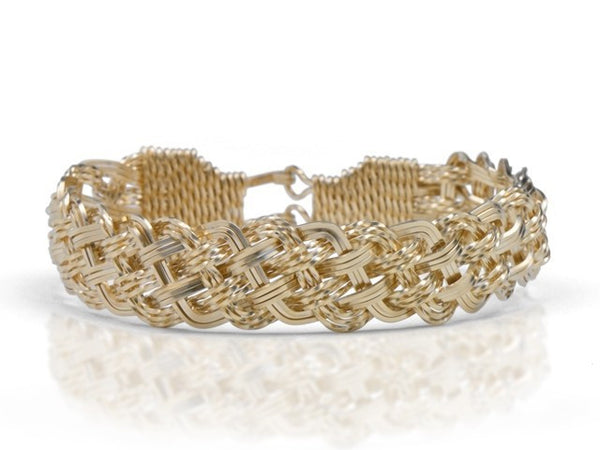 Ronaldo Turk's Head Knot Wide Bracelet - Shops on Bay