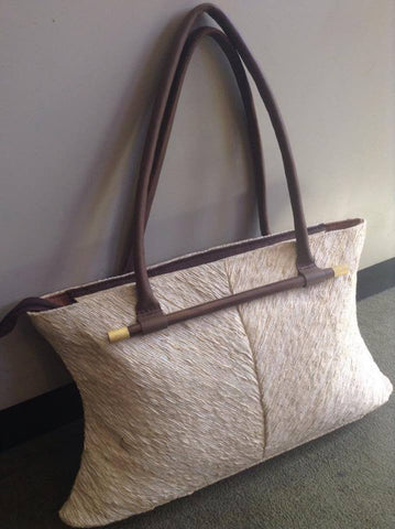 Vetiver Large Cream Handbag - Shops on Bay  - 1