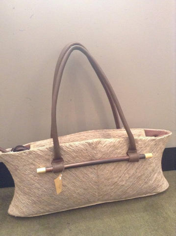 Vetiver Small Cream Handbag - Shops on Bay  - 1