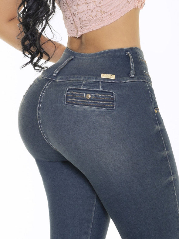'Cherry Girl' Butt Lift Levanta Cola Jeans 12785