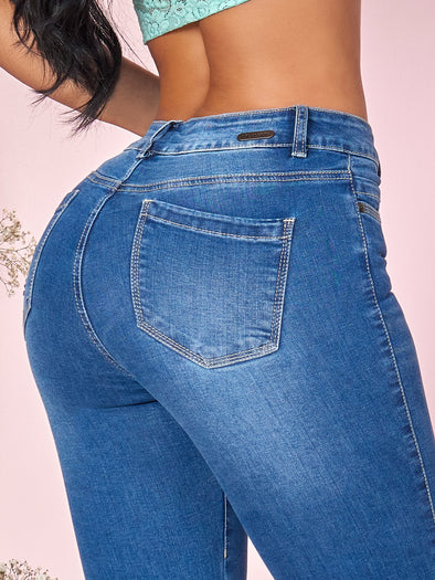 'Cecile' Butt Lift Levanta Cola Jeans 12802